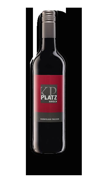 2019 Dornfelder Rotwein trocken - PLATZhirsch